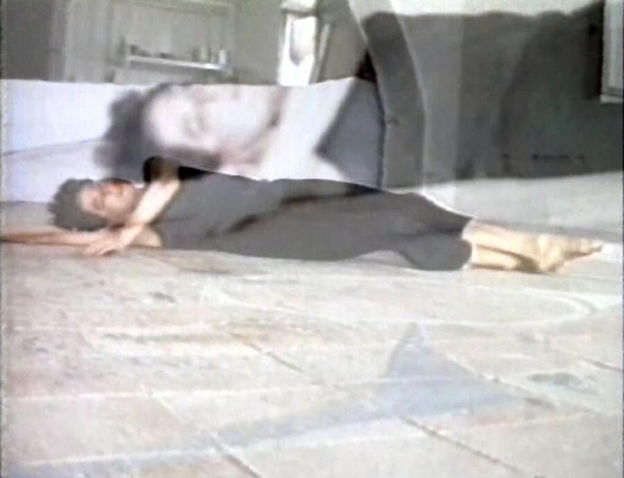 Anna Winteler, Horizontal Waltz for Left and Right Handcameras. Mit Monica Klingler, 1989, courtesy the artist
