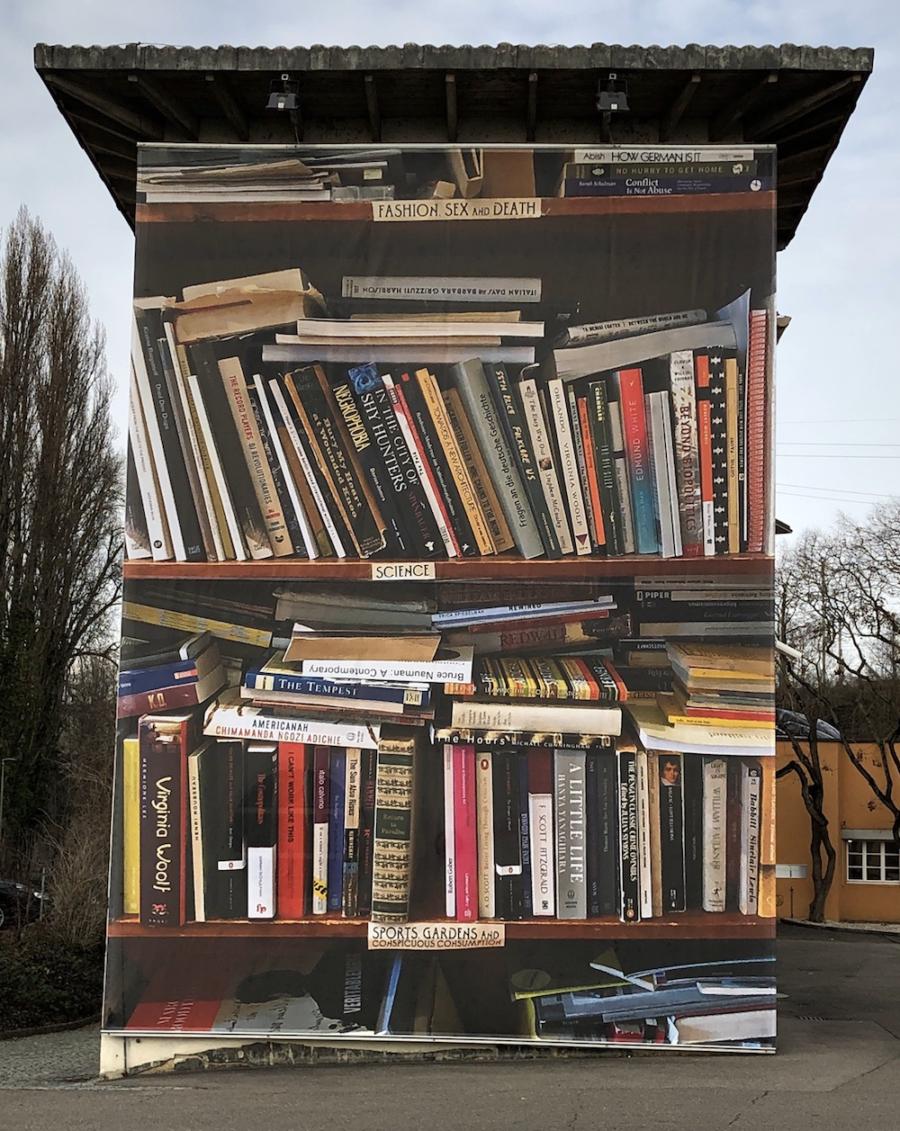 Gina Folly, Jahresaussenprojekt Kunsthaus Baselland 2019, Foto: Gina Folly