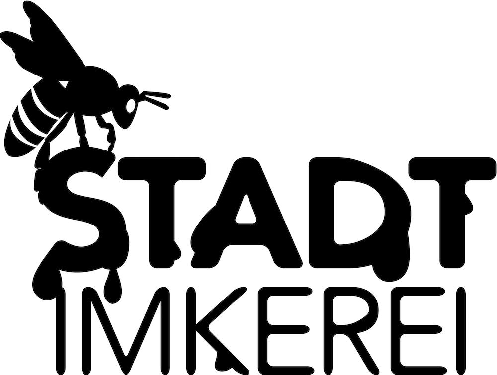 Stadtimkerei Logo Sw Gb Klein