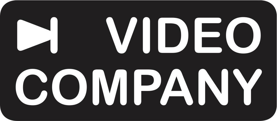 Videocompany logo schwarz trans