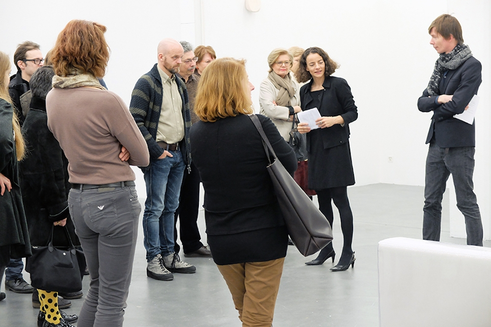 Guided Tour with Adam Szymczyk and Ines Goldbach
